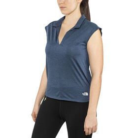 The North Face Inlux - Camiseta sin mangas running Mujer - azul